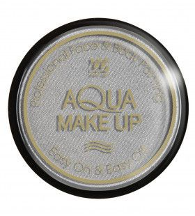 Aqua Make-Up Metallic Zilver 15 Gram