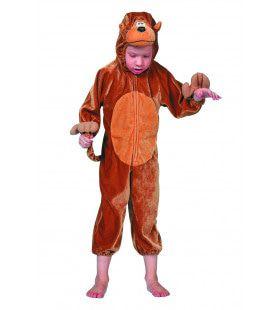 Snoezige Aap Kind Kostuum
