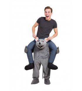 Op De Rug Van Een Rat Man Kostuum