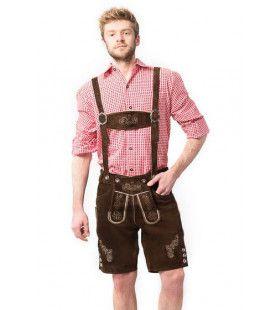 Elf Laarzen Bier Lederhose Man Kostuum