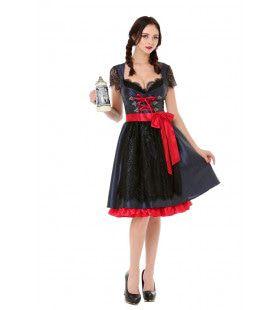 Traditionele Dirndl Tirol Bierfeest Vrouw Kostuum