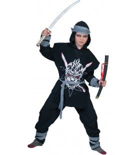 Shakumi Ninja Jongen Kostuum