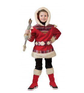 Eskimo Nanook Kind Kostuum