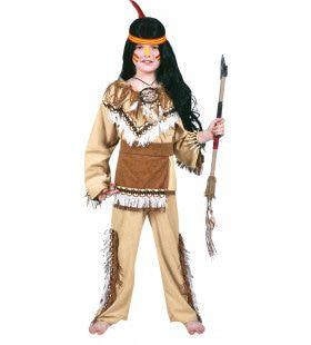 Sioux Sunrise Jongen Kostuum