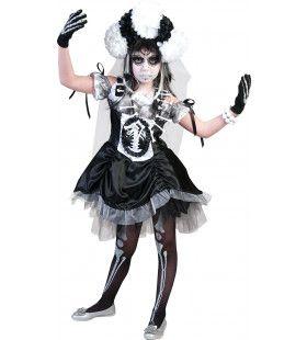 Bonny Skulla Meisje Kostuum