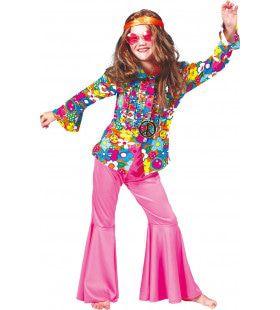 Hippie Broek Roze Meisje