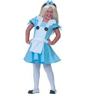 Alicia Uit De Toverwereld Meisje Kostuum