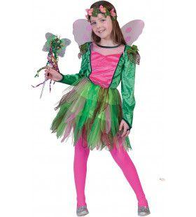 Rosy De Elf Meisje Kostuum