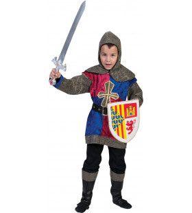Middeleeuwen Fleur De Lis Ridder Jongen Kostuum