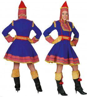 Saami De Tartaar Dame Vrouw Kostuum