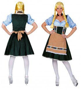 Salzburg Oktoberfest Vrouw Kostuum