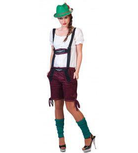 Munchen Dames Shorts Vrouw Kostuum