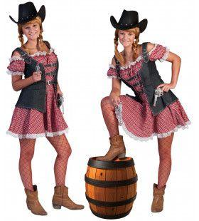 Ranger Cowboy Vrouw Kostuum