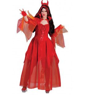 Develarix Duivel Vrouw Kostuum