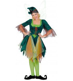 Willow Woman Elf Vrouw Kostuum