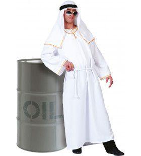Sjeik El Olievat Man Kostuum