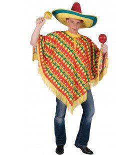 Orale Amigo Poncho Kostuum