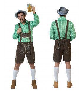 Kaiserkopf Oktoberfest Man Kostuum