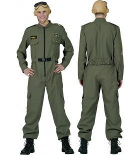 F16 Piloot Man Kostuum