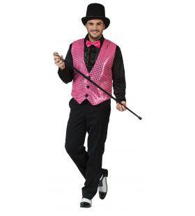 Show Vest Roze Man