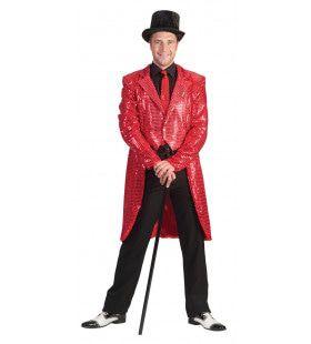 Frackjas Rood Man Kostuum
