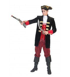 Piraat Stylo Star Kostuum Man
