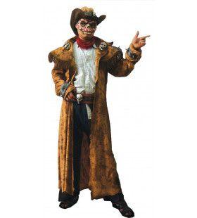 Horror Cowboy Geest Man Kostuum