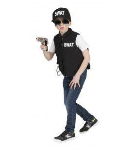 Swat Vest Harold Jongen Kostuum