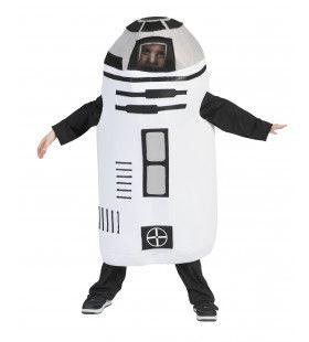 Ronde Robot Uit De Ruimte Kind Kostuum