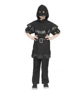 Zwarte Beul Afschrikko Jongen Kostuum