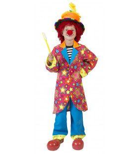 Gekke Bonte Clown Kostuum