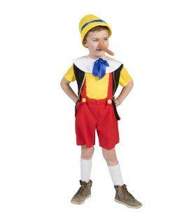 Traditionele Pinocchio Kostuum