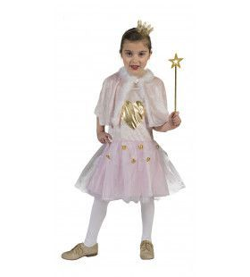 Roze IJskoningin Corazon Meisje Kostuum