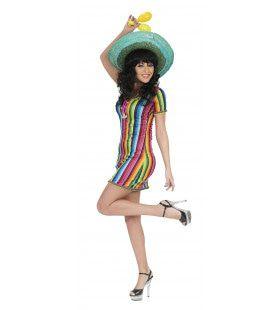 Guadalajara Caramba Tuniek Vrouw Kostuum
