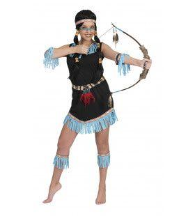 Indiaanse Prinses Katuri Vrouw Kostuum