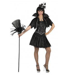Chique Heksenvampier Vrouw Kostuum