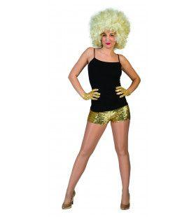 Gouden Hotpants Vrouw