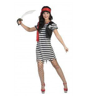 Bashana Pirate Vrouw Kostuum