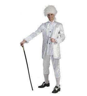 Witte Edelman Condero Kostuum