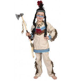 Daverende Donderwolk Indiaan Jongen Kostuum
