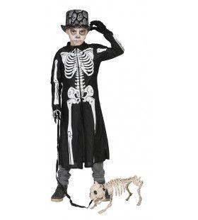Wandelend Geraamte Skelet Jas Jongen Kostuum
