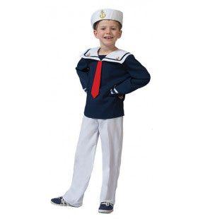 Koos Matroos Jongen Kostuum