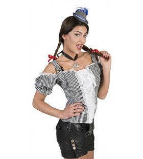 Zwart Wit Ruitjes Hemd Hubsche Hannah Vrouw
