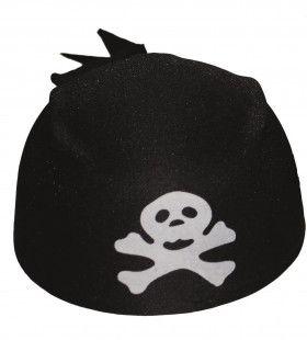 Bandana Muts Piraat Kraaiennnest