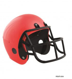 American Football Helm Rood