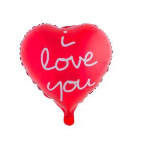 Ballon Hartje I Love You
