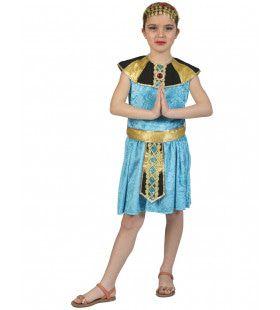 Cleopatra Van Egypte Farao Meisje Kostuum