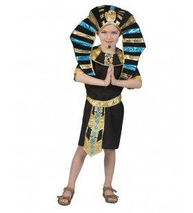Koninklijke Egyptische Farao Dubbele Valk Jongen Kostuum