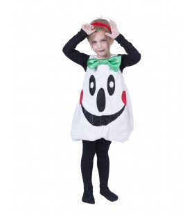 Schattige Zwevende Spook Meisje Kostuum