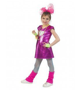 Groot Hart Voor Disco Glitter Meisje Kostuum